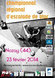 Championnat régional bloc @ Nozay - Espace Edlinger, Salle de la Chesnaie | Nozay | Pays de la Loire | France