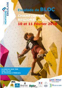 Championnat Régional Bloc M/V @ La Roche sur Yon - Salle Rivoli | La Roche-sur-Yon | Pays de la Loire | France