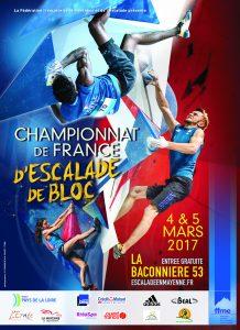 Championnat France Bloc - Ballée (53) @ Espace François Legrand - La Baconnière (53)